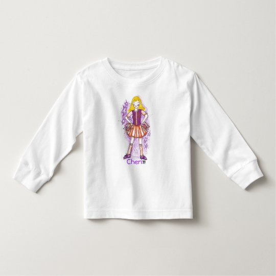 Future Cheerleader of  America! Toddler T-shirt
