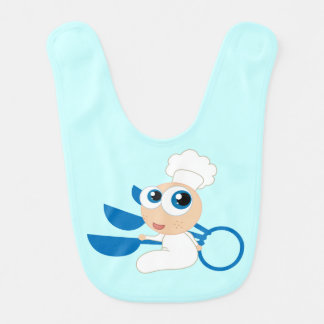 Future Chef Baker Baby Bib