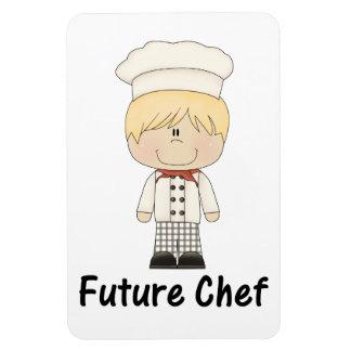 future chef (boy) rectangle magnet