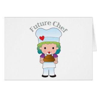 Future Chef Card