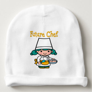 Future Chef Dark Skin When I Grow Up Baby Beanie