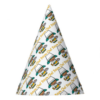 Future Chef Dark Skin When I Grow Up Party Hat