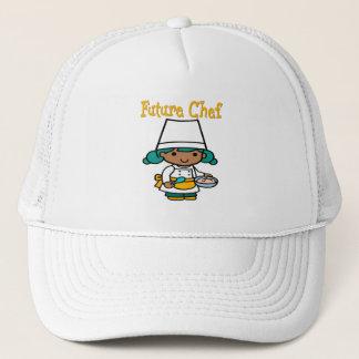 Future Chef Dark Skin When I Grow Up Trucker Hat