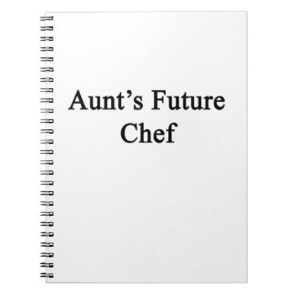Future Chef de tía Note Book