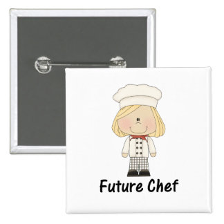 future chef (girl) button