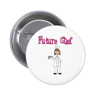 Future Chef ( girl) Buttons