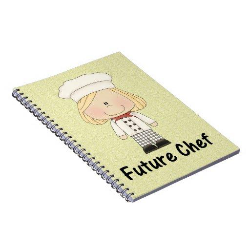 future chef (girl) journals
