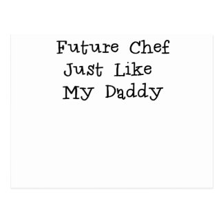 Future Chef Like Daddy.png Postcard