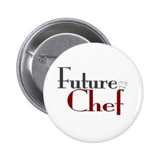 Future Chef Pinback Button