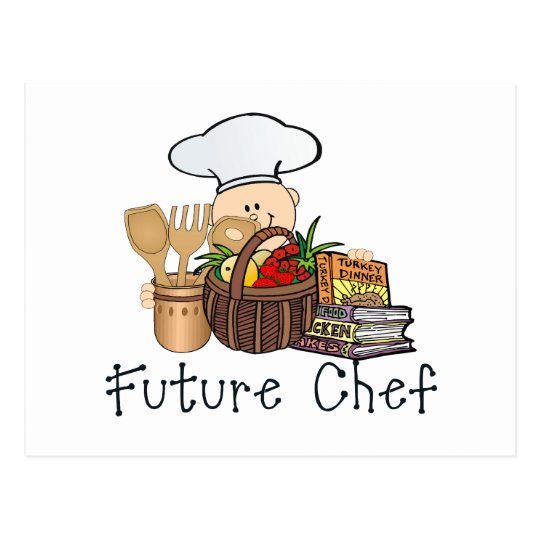 Future Chef Postcard