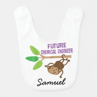 Future Chemical Engineer Personalized Baby Bib