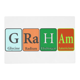 Future Chemist Placemat with Custom Name