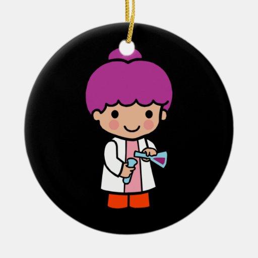 Future Chemist / Scientist Christmas Tree Ornament