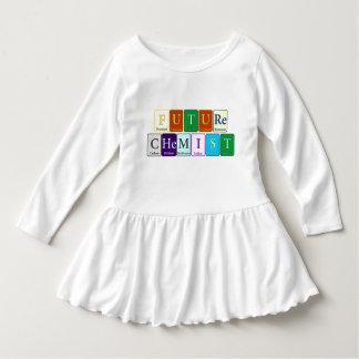 Future Chemist Toddler Dress