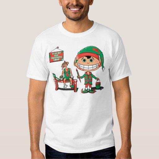 Future Christma Elf In Training T Shirt