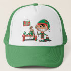 Future Christma Elf In Training Trucker Hat
