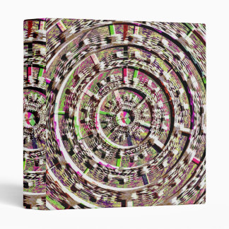 Future CitiScapes - Healing Chakra Designs 3 Ring Binder