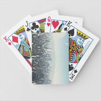 Future City - 2 Bicycle Playing Cards