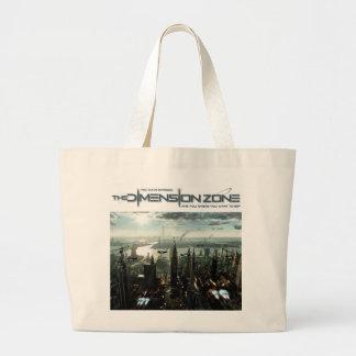 Future City Canvas Bags