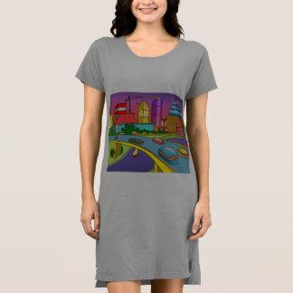 Future City Dress for Women (S-XL)
