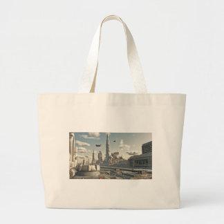 Future City Streets Tote Bag