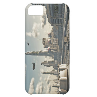 Future City Streets Cover For iPhone 5C