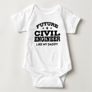 Future Civil Engineer Baby Bodysuit