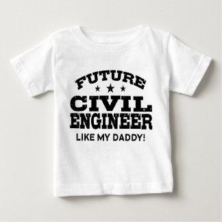 Future Civil Engineer Baby T-Shirt