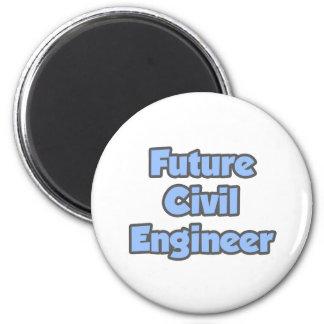 Future Civil Engineer Refrigerator Magnet