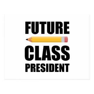 Future Class President Postcard
