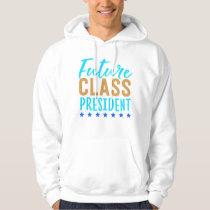Future Class President School Uniform Running For Hoodie