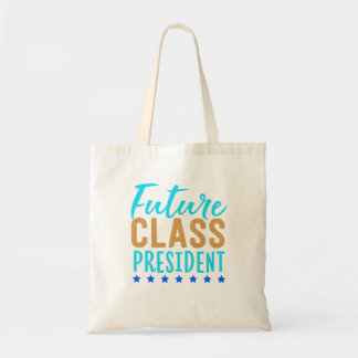 Future Class President School Uniform Running For Tote Bag