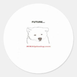 future classic round sticker