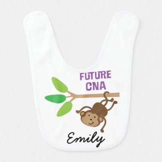 Future CNA Personalized Baby Bib