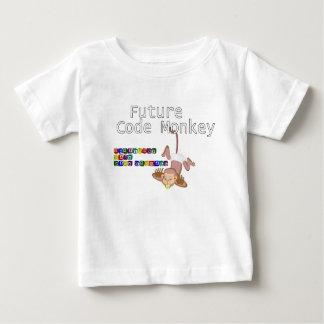 Future Code Monkey Baby T-Shirt