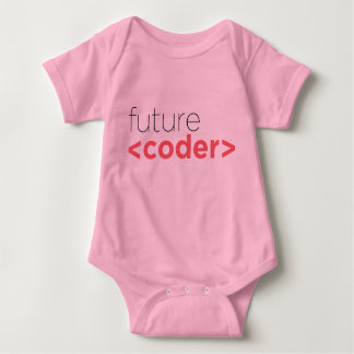Future <coder> Onsie Baby Bodysuit