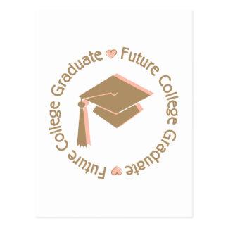 Future College Graduate Girl Postcard