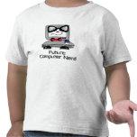 Future Computer Nerd Geek Shirt for Toddlers