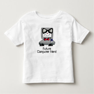 Future Computer Nerd Geek Shirt for Toddlers