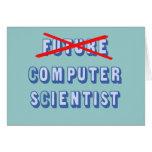 Future Computer Scientist No More Card