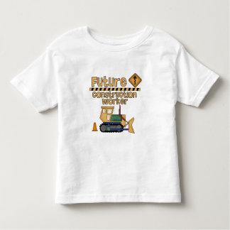 Future Construction Worker Toddler T-shirt