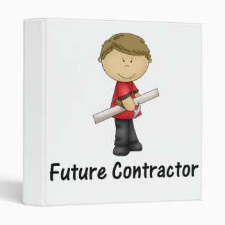 future contractor 3 ring binder
