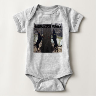 Future Coon Hunter Baby clothing Baby Bodysuit