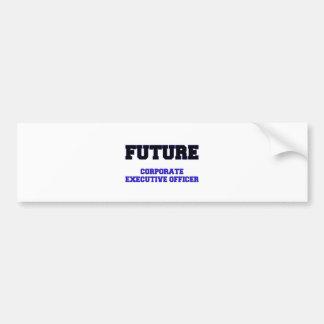 Future Corporate Executive Officer Bumper Sticker