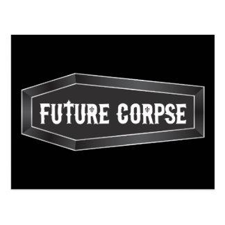 Future Corpse Coffin Postcard