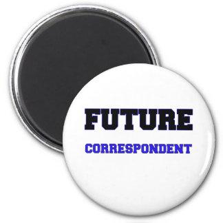 Future Correspondent Magnet