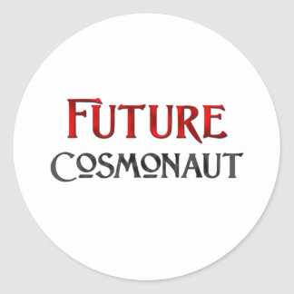 Future Cosmonaut Sticker