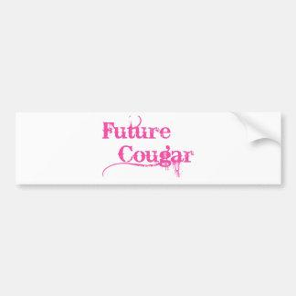 Future Cougar Bumper Sticker
