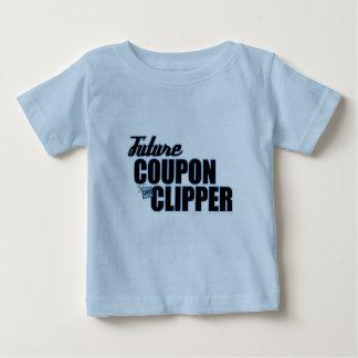 Future Coupon Clipper - 6-24 mo Boy Baby T-Shirt