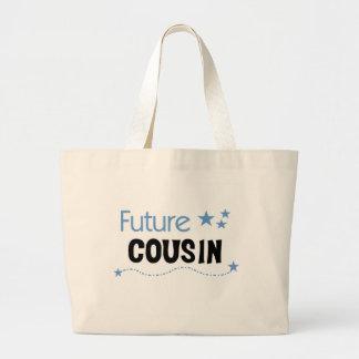 Future Cousin Blue Tote Bag